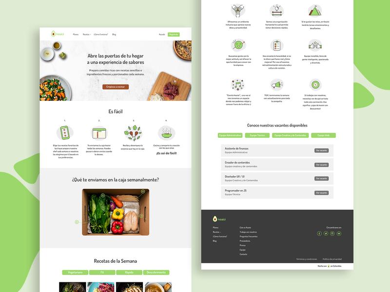 Keaioi.co icon vector web design design clean ux ui design