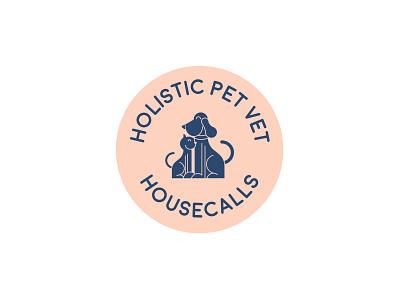 Holistic Pet Vet veterinary pet animals vector logo