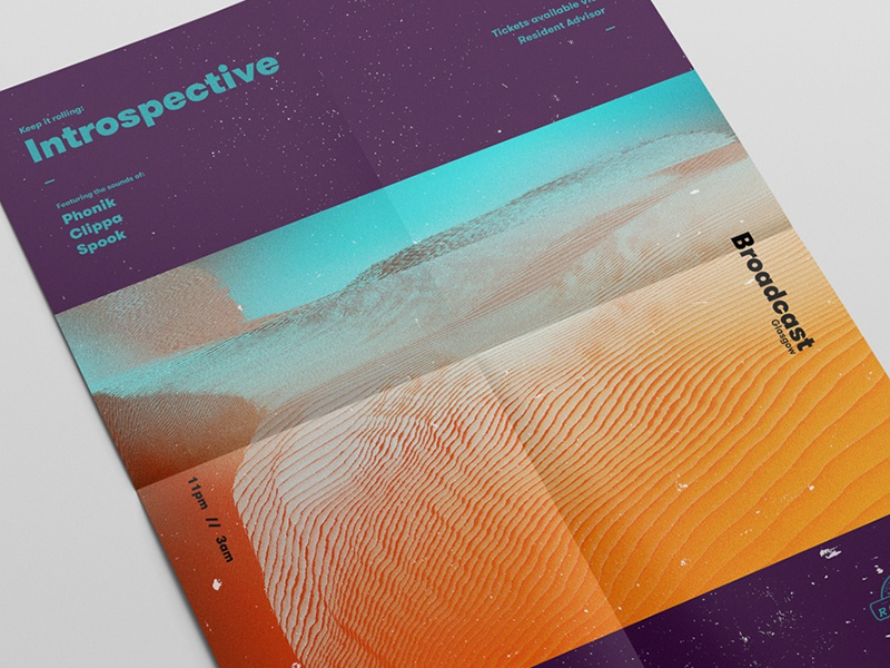 001 Introspective // Poster Series poster design graphic design printdesign posterdesign poster mockup layout design colourful abstract