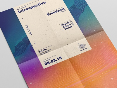 002 Introspective // Poster Series poster design graphic design printdesign posterdesign poster mockup layout design colourful abstract