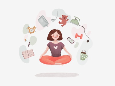 meditation time art childrens book children book illustration book illustration children book lifestyle yoga illustration illustrator meditation
