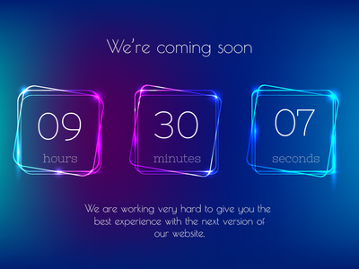 Daily UI #014 — Countdown Timer