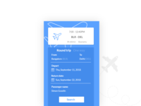 Flight Search- Daily UI:: #068