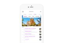 Daily UI #079 - Itinerary