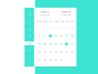 Daily UI #080 - Date Picker