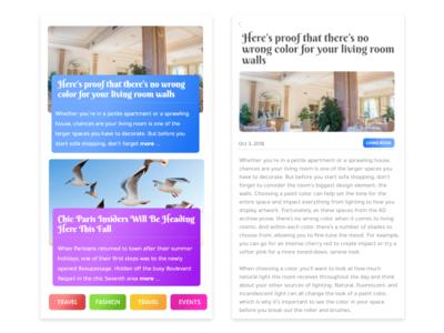 News- Daily UI:: #094 hashtag article news app news challenge design mobile ux ui dailyui