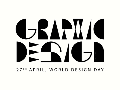 Graphic Design worlddesignday graphicdesign type typogaphy design