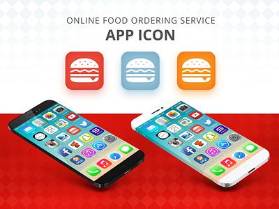 App Icon - Online Food Ordering design vector dailyui 005 icon icon app logo flat dailyui