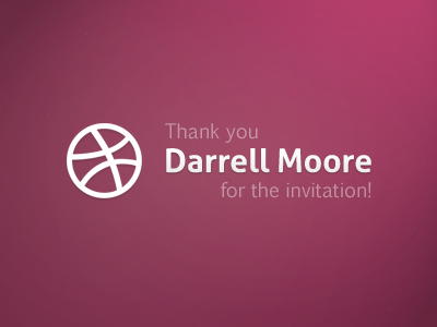 Thank you Darrell Moore