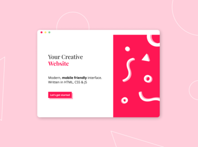 Webdesign Company Design