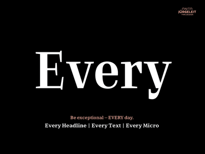 Every Typeface typography magazine book typeface design typefaces type font foundry font design font family small caps text faces optical sizes