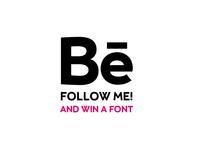 Win a font!