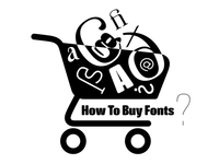 A guide on how to shop fonts..