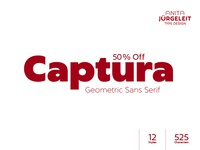 Captura - Geometric Sans Serif