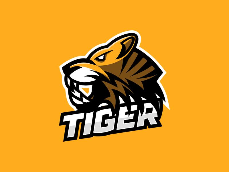 Tiger Mascot Logo tiger logo tiger mascot logo mascot logo mascot logo design mascot character design logo logo design logodesign logo branding exploration branding