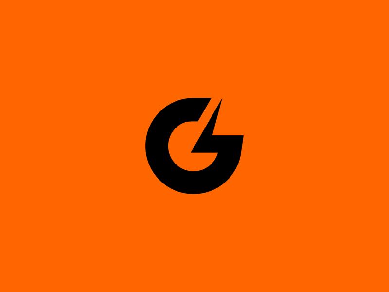 G + Lightning Logo graphic design g letter logo gatorade logo gatorade letter g g g logo modern logo clean logo design logo logo design logodesign logo branding exploration branding