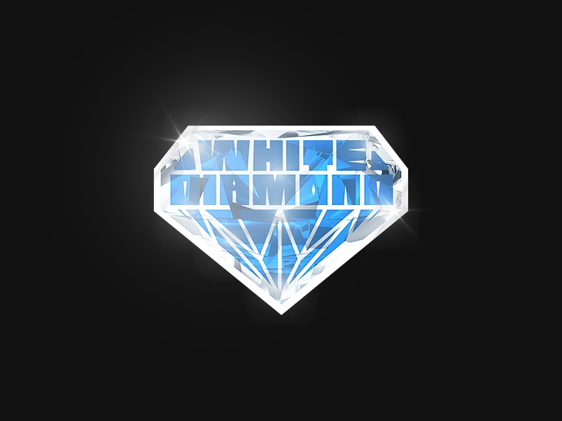 White Diamond Color logo strain white diamond diamond marijuana weed