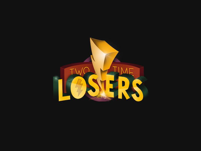 Two Time Losers - Power Rangers streetwear logo two time losers power rangers