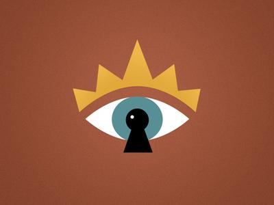 See King aztec vector print design eye