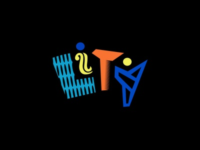 Lity in living color logo typography art font type typography