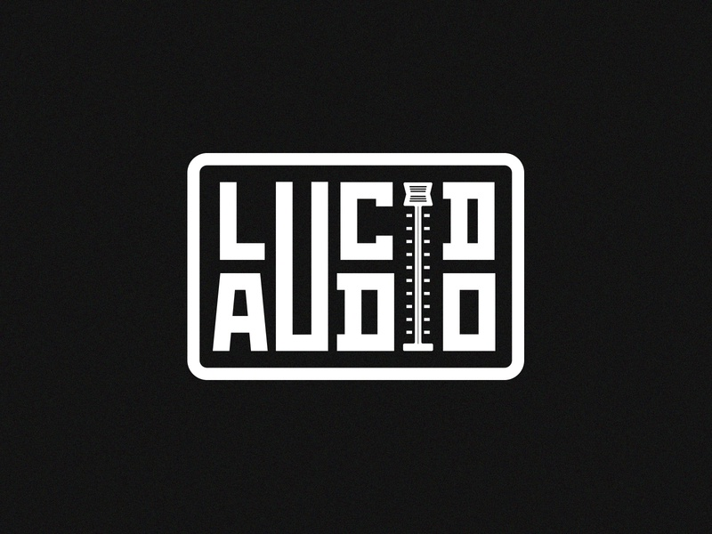 Lucid Audio Logo producer audio music design logo design branding logo