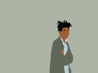 Basquiat - unamused