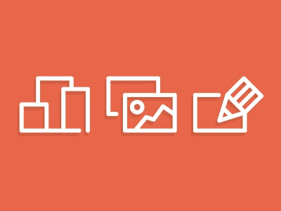 Select, Upload and Customize customize upload select boxes packaging icons