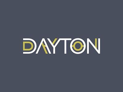Dayton dayton ohio typography type