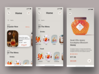 E-commerce concept App | Version #1