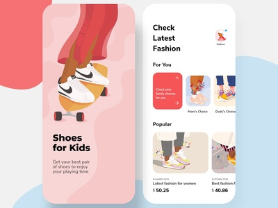 Shoes Store for Kids App