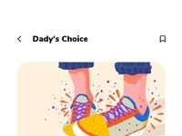 Family choice page