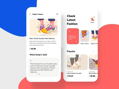 Shoes Store App for Kids