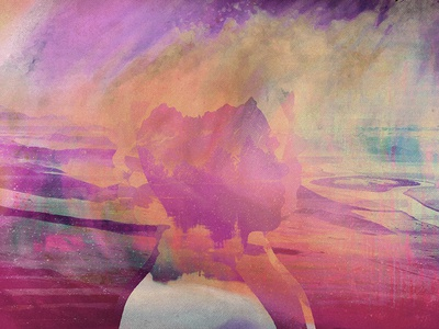 Viro headspace profile strokes pinks abstract pastel