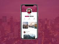 Daily UI Challenge 006 - Profile