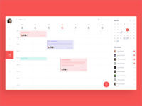 web design of Calendar