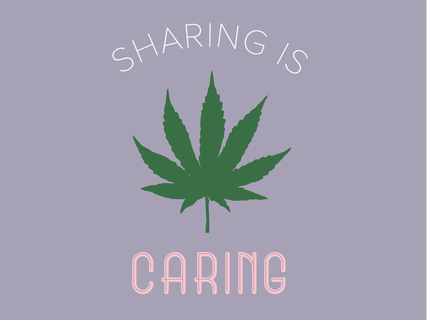 Sharing is Caring 2 vector logo branded content 2d digitalcontent content illustrator graphicdesign