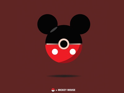 Pokeball Mickey Mouse