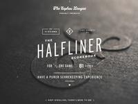 Halfliner Scorebook Site