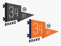 34 Brand Pennant