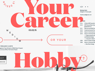 Is Design Your Career or your Hobby?