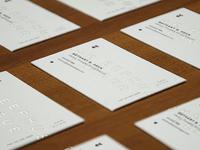 Eephus League business card idea