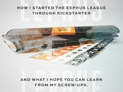 Kickstarter tips article double exposure kickstarter book baseball medium