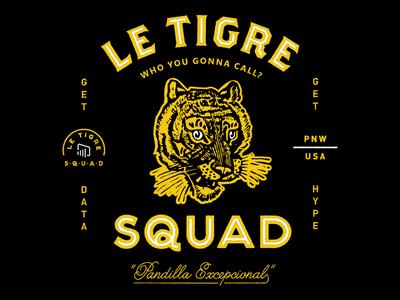 Le Tigre Lockup