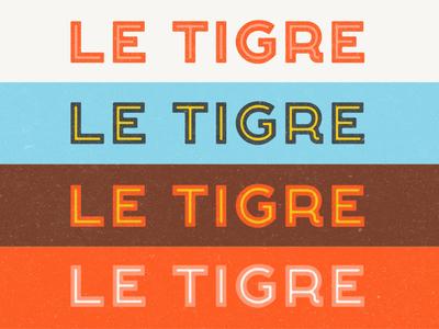 Tigre Type typography inline