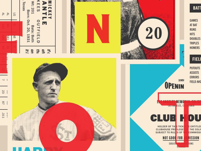 Fontacular! fontacular typography baseball