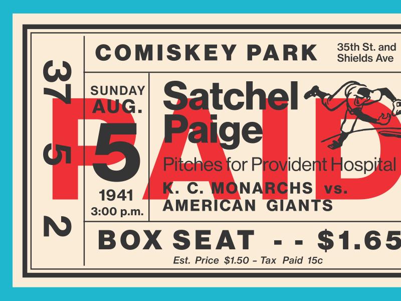 Fontacular Baseball Ticket neue haas grotesk typography tickets baseball