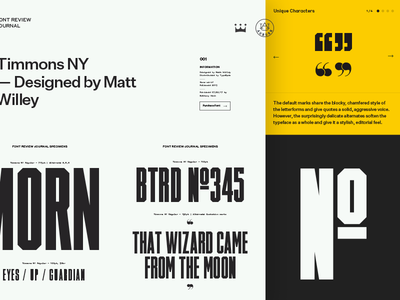 Font Review Journal untitled sans timmons swiss typography fonts