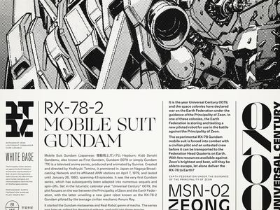 IT'S A GUNDAM! maelstrom ogg typography gundam