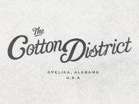 Cotton District