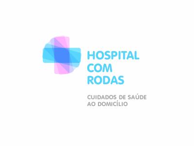 HCR healthcare hospital logo identity cross brand home